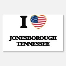 I love Jonesborough Tennessee Decal