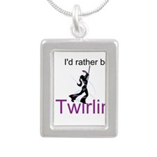 Rather Be Twirling Necklaces