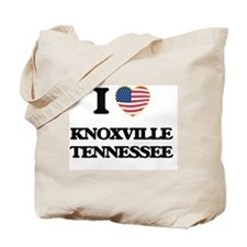 I love Knoxville Tennessee Tote Bag