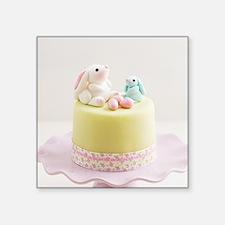 Easter bunny cake Sticker