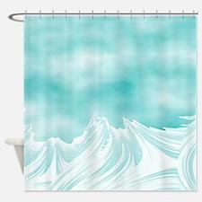 SKY WAVES Shower Curtain