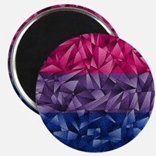 Abstract Bisexual Flag Magnet