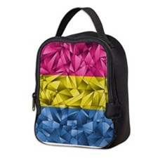 Abstract Pansexual Flag Neoprene Lunch Bag
