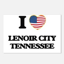 I love Lenoir City Tennes Postcards (Package of 8)