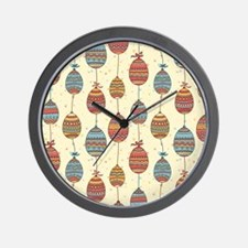 Decorating for Easter Wall Clock