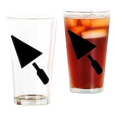 Mason trowel Drinking Glass