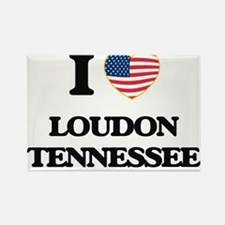 I love Loudon Tennessee Magnets