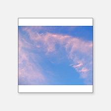Pink Swirling Clouds Sticker