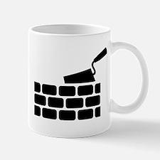 Mason brick wall trowel Mug
