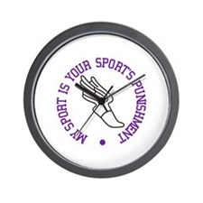 My Sport Is Wall Clock