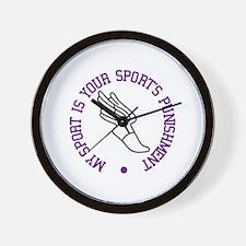 My Sport Is Wall Clock