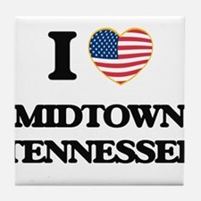 I love Midtown Tennessee Tile Coaster