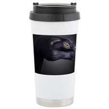 Black Panther Stainless Steel Travel Mug