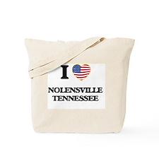 I love Nolensville Tennessee Tote Bag