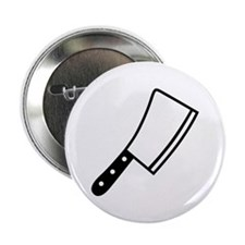 """Butcher knife cleaver 2.25"""" Button"""