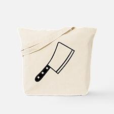 Butcher knife cleaver Tote Bag