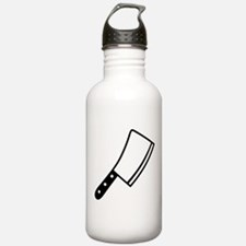 Butcher knife cleaver Water Bottle
