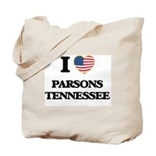 I love Parsons Tennessee Tote Bag