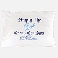 Best Great Grandma Pillow Case