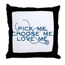 Grey's Anatomy: Pick Me Throw Pillow