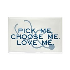 Grey's Anatomy: Pick Me Rectangle Magnet