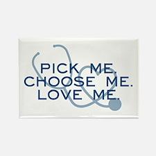 Grey's Anatomy: Pick Me Rectangle Magnet