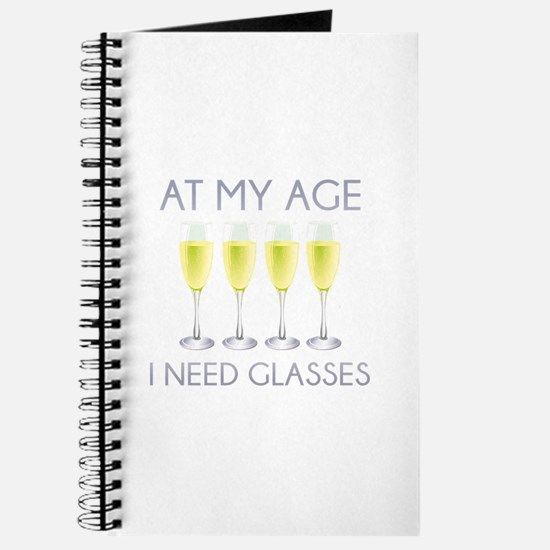At My Age I Need Glasses Journal