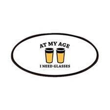 At My Age I Need Glasses Patches