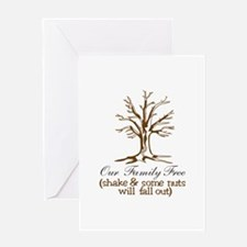 Our Family Tree Greeting Cards