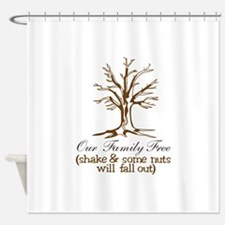 Our Family Tree Shower Curtain