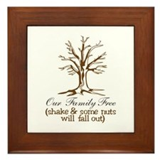 Our Family Tree Framed Tile