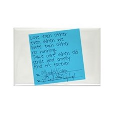 Grey's Anatomy: Post It Rectangle Magnet