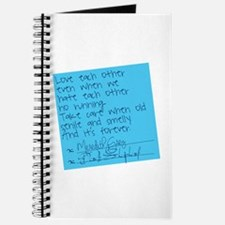 Grey's Anatomy: Post It Journal