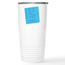 Grey's Anatomy: Sticky Stainless Steel Travel Mug