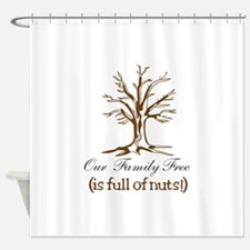 Full of Nuts Shower Curtain