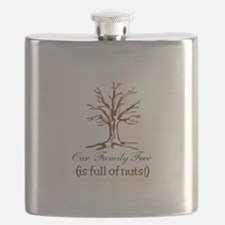 Full of Nuts Flask