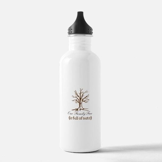 Full of Nuts Water Bottle
