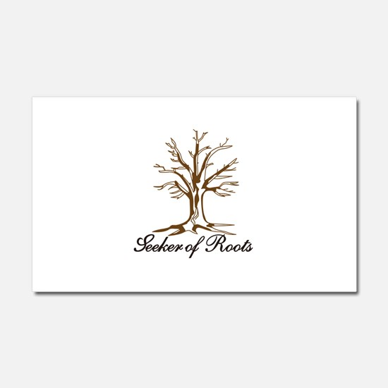 Seeker of Roots Car Magnet 20 x 12