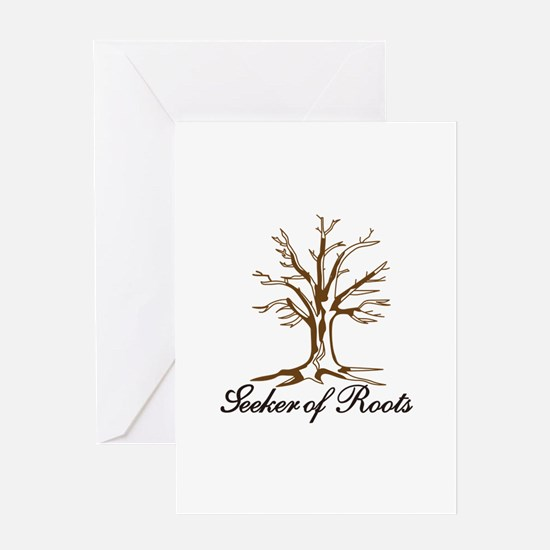 Seeker of Roots Greeting Cards