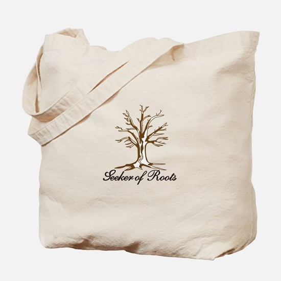 Seeker of Roots Tote Bag
