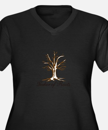 Seeker of Roots Plus Size T-Shirt