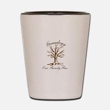 Genealogy Shot Glass
