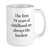 74th birthday Coffee Mugs