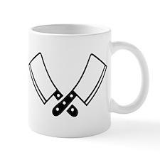 Butcher knives cleaver Mug