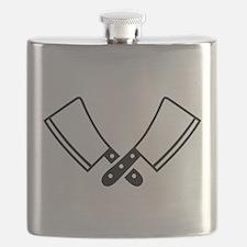 Butcher knives cleaver Flask
