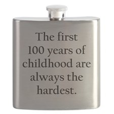 The First 100 Years Of Childhood Flask