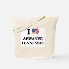 I love Sewanee Tennessee Tote Bag