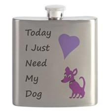 My Dog Today Flask