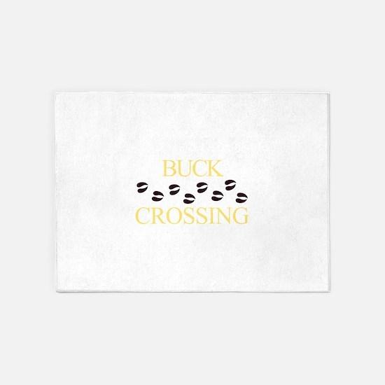Buck Crossing 5'x7'Area Rug