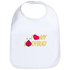 Love My Ladybug Bib